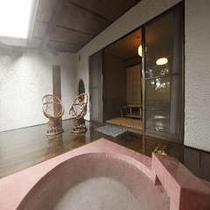露天風呂付き客室「羽衣」