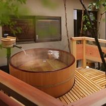客室専用露天風呂一例