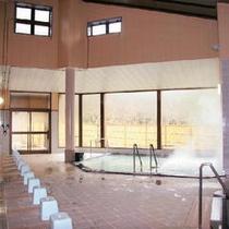 サウナ・ジャグジーがついた大浴場も源泉100%