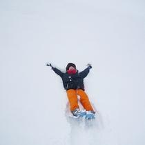 スノートレッキング大自然を満喫