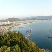 瀬戸内海の景色