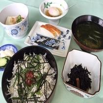 【プラン限定】しらす丼朝食セット