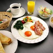 ■朝食■目玉焼きのタイプになります