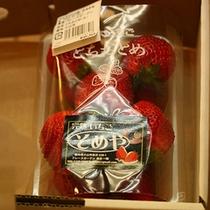 ■とちおとめ■栃木の名産品であるいちご、とちおとめ ぜひ一度ご賞味下さい