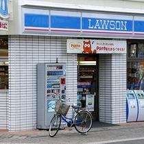 ■LAWSON小山駅西口店■ホテルより徒歩2、3分にあります