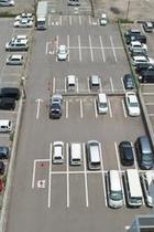 駐車場 全体 (平面50台・無料)
