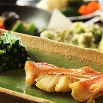 和食夕食♪焼き魚