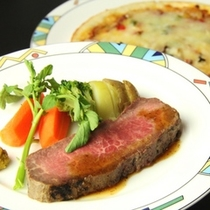 イタリアン夕食♪ローストビーフ
