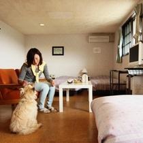 客室-ファミリールーム2☆4~5名でご利用になれます