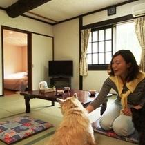 客室-和洋室4☆2~6名でご利用になれます