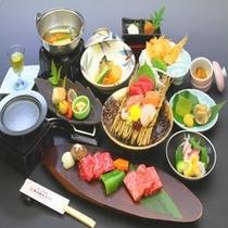 熊野牛・松阪牛の食べ比べ会席料理