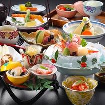 冬期限定☆のんびり温泉プランのご夕食☆彡