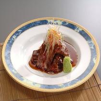 仙台牛ステーキ☆盛り付け例