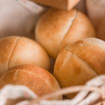 ふっくらと焼きあがったパンも大好評☆