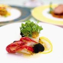 ダイニングボルドー ディナー魚料理イメージ