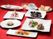 洋食コース料理イメージ