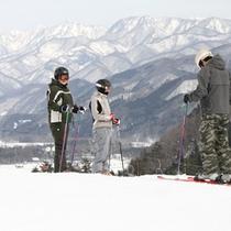 白馬五竜スキー場まで150m★