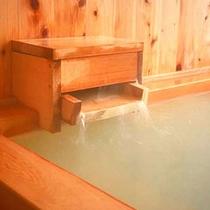 貸切専用「檜風呂」