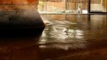 貸切風呂こんこんと湧く温泉