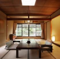 【北館和室一例】純和風客室・トイレ付き