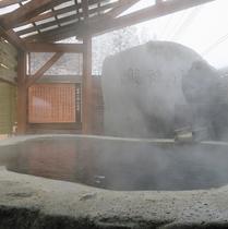 【東湯】露天・大石風呂「龍神の湯」