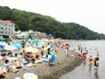 海水浴場風景