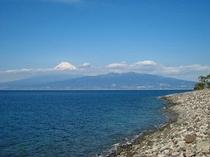 大瀬岬外海からの眺め