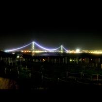 淡路海峡大橋★ライトアップ