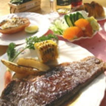 淡路牛サーロインステーキコースディナー