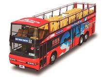 スカイホップバスで行く東京巡り