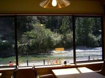 レストランからの眺め