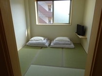 4畳半タイプの居室2名利用時