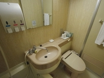 【浴室】セミダブルのバスルーム