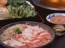 鶏豚ちゃんこ鍋