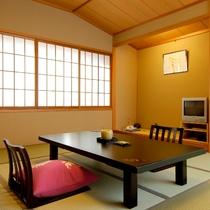 【客室】気軽にご利用いただけるスタンダード和室10畳 ※一例