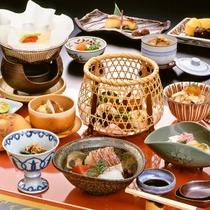 【お食事】秋季限定 京料理会席11品 ※イメージ