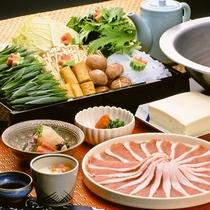 【お食事】豚しゃぶしゃぶ ※イメージ