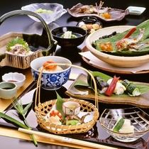 【お食事】夏季限定 京料理会席11品 ※イメージ