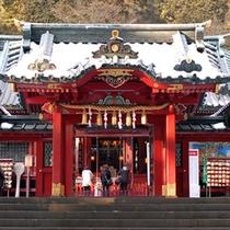 箱根神社(箱根神社 徒歩15分 車3分)