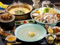 冬の美食『 名代 ふくづくし 』料理