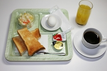 シンプル朝食