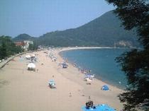 satu 夏の佐津ビーチ