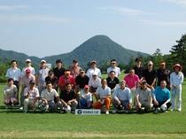 2011年の「KOURAGI CUP」。お忙しい中、多くの仲間が参加してくれました。於:久美浜C.C.