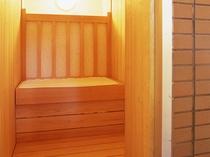 メトス乾式の「サウナ室」もあります