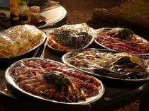 BBQプランの食材②