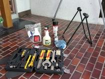 自転車用の工具など