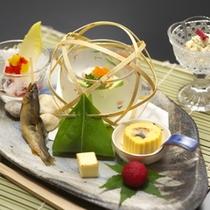ご夕食:前菜(一例)