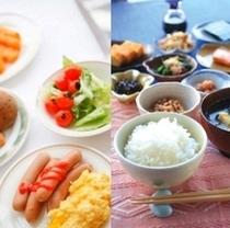 【朝食バイキング】色々な味わいを楽しめる朝食バイキング