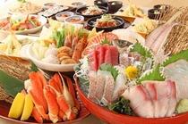 宴会メニュー「華の宴」全9品4,800円(税込)
