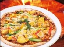 【カレーピザ】カレーの香りがするピザはいかがですか